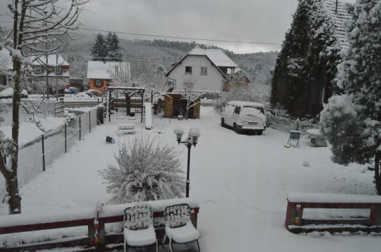 Noel : Nous avons même eu de la neige !!