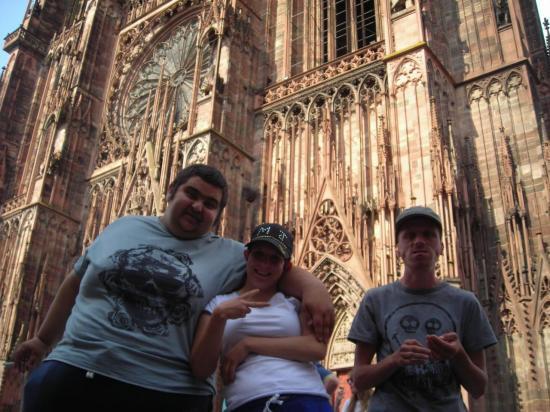 A la Cathédrale de Strasbourg