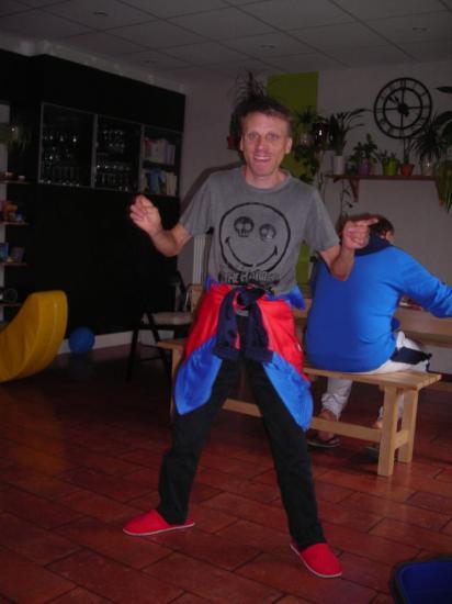 En pleine danse :)