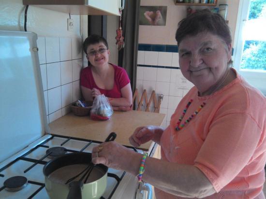 Equipe en cuisine :)