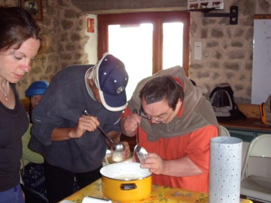 Fabrication de Fromage frais